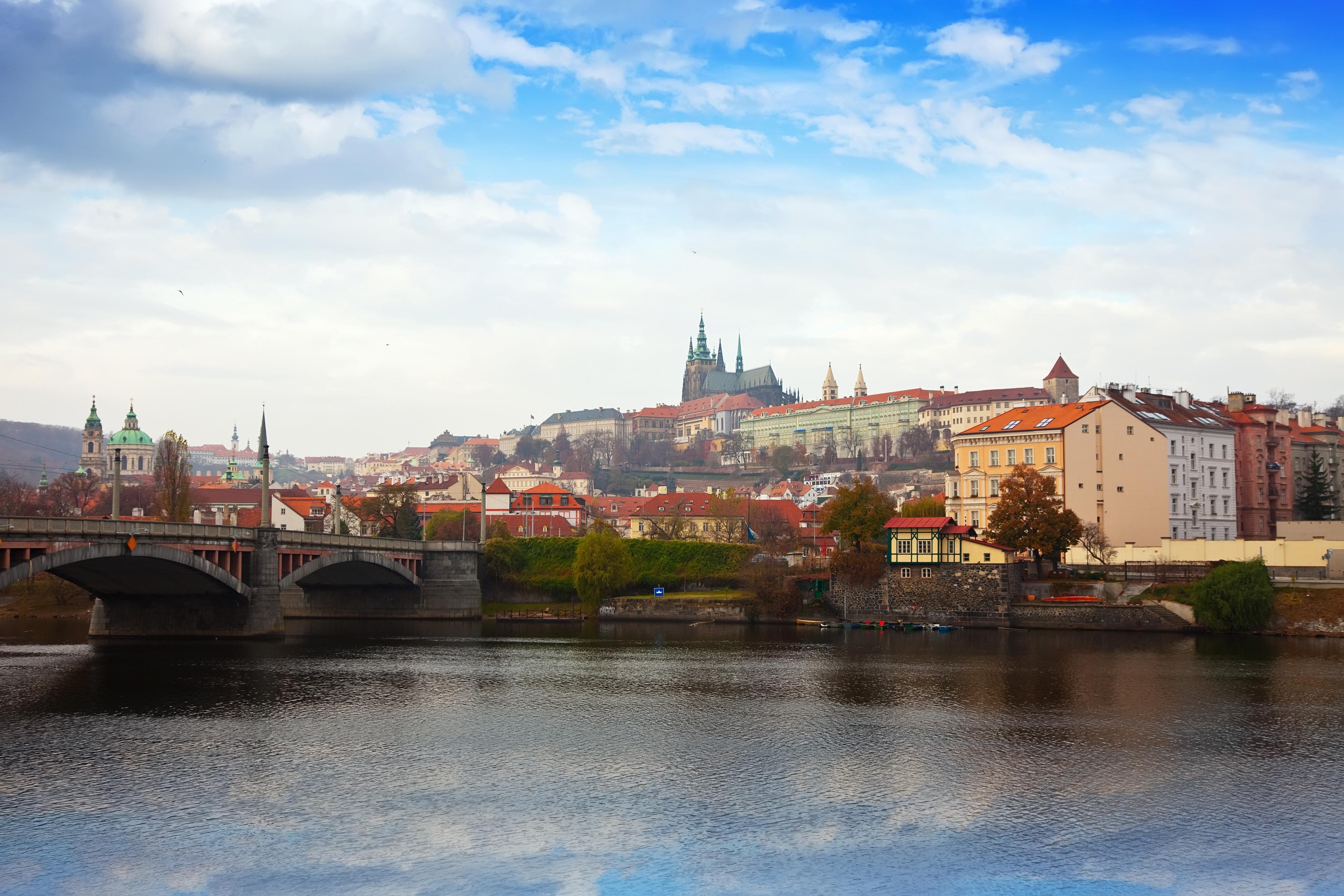 View of Prague. Czechia